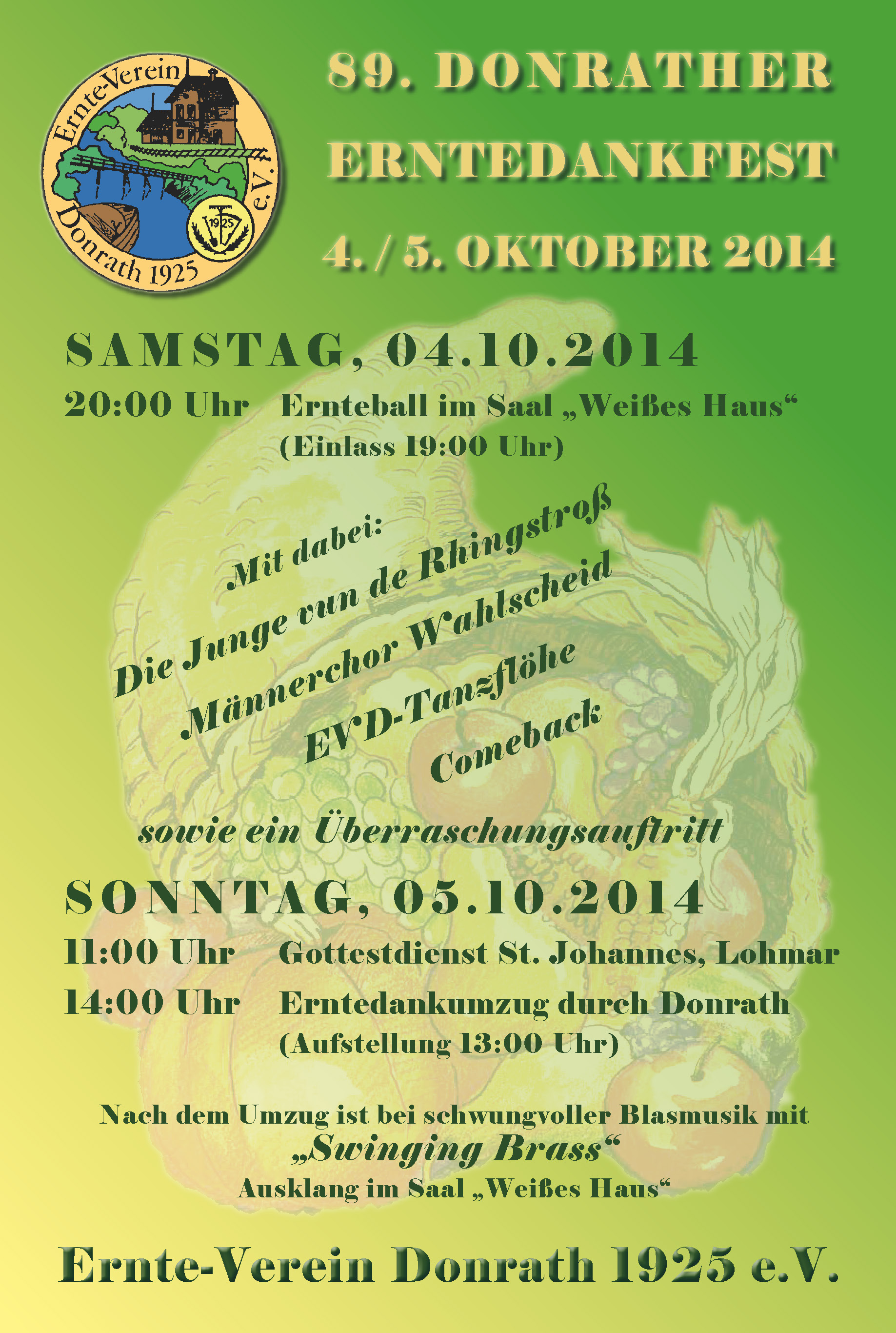 89. Erntefest in Donrath