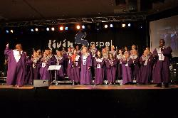LivinGospel Choir in Action (Foto: Hartmut Schulz)