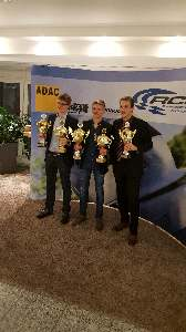 Die MSC Youngster v.l.n.R. Alexander Fielenbach, Kevin Wolters, Alexander Brauer (Foto: privat)